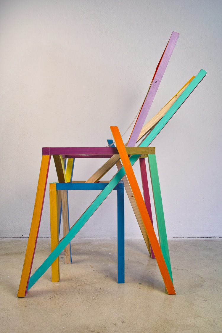 Illustration Chair by Jojo Chuang