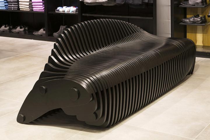 Skeleton Bench by Bilgoray-Pozner