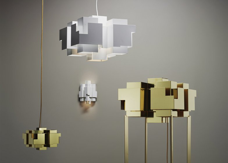 Suburban Skyline Lamp by Folkform