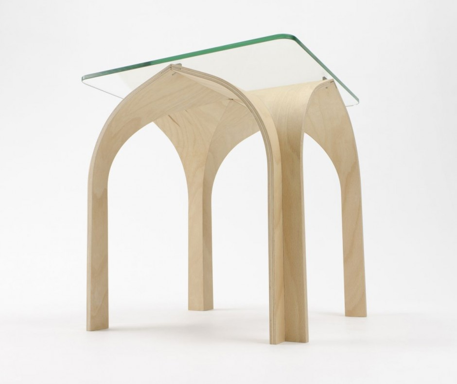 Cathedral Table by Nobu Miake + Design Soil