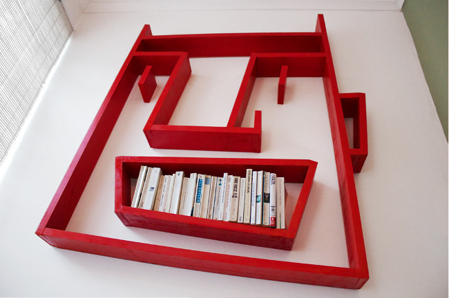 Face Shelving by Alexi Mccarthy