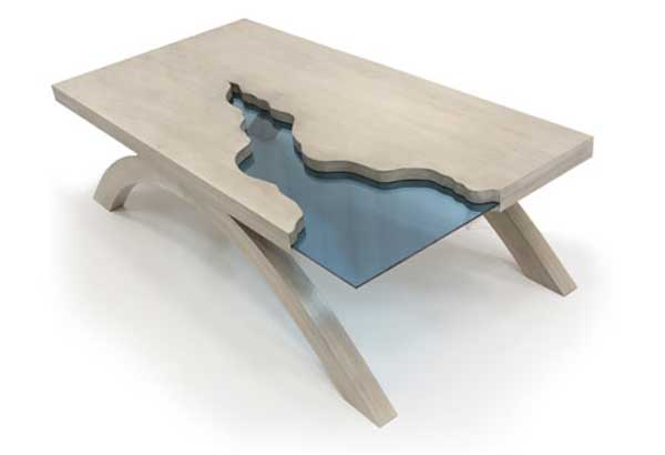 Grand Canyon Table by Amit Apel Design