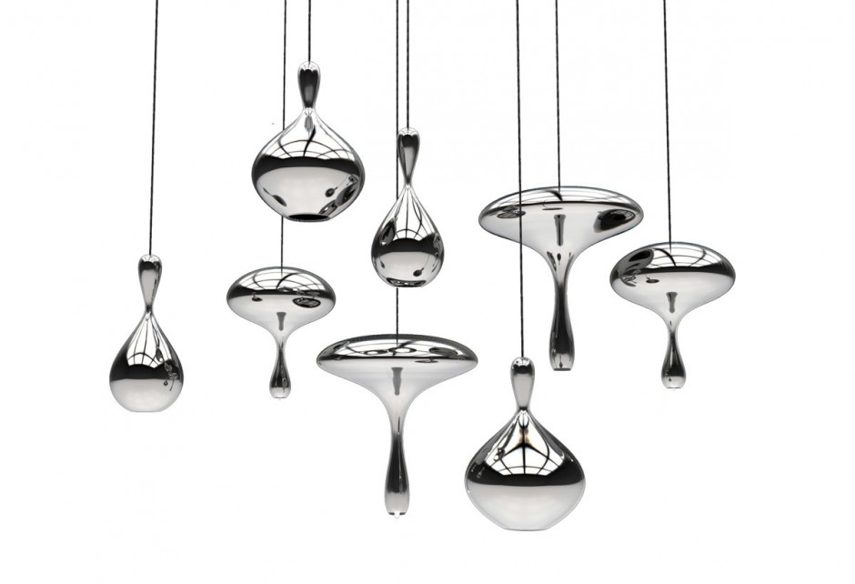 Lava Drops by Tsunami Glassworks & Alvaro Uribe Design