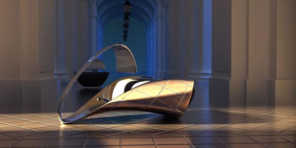 Serenad Chair by Ali Alavi