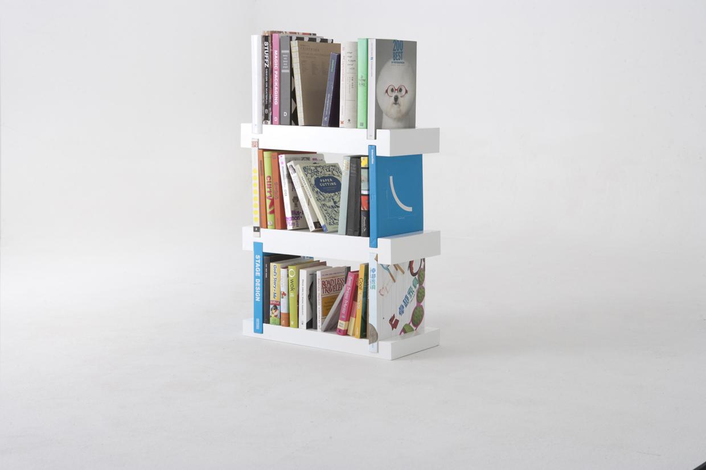Minimal Bookshelf by 50K Studio