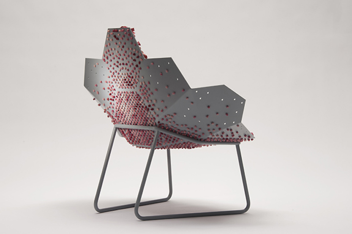 BLUSH Lounge Chair by Sofie Brunner