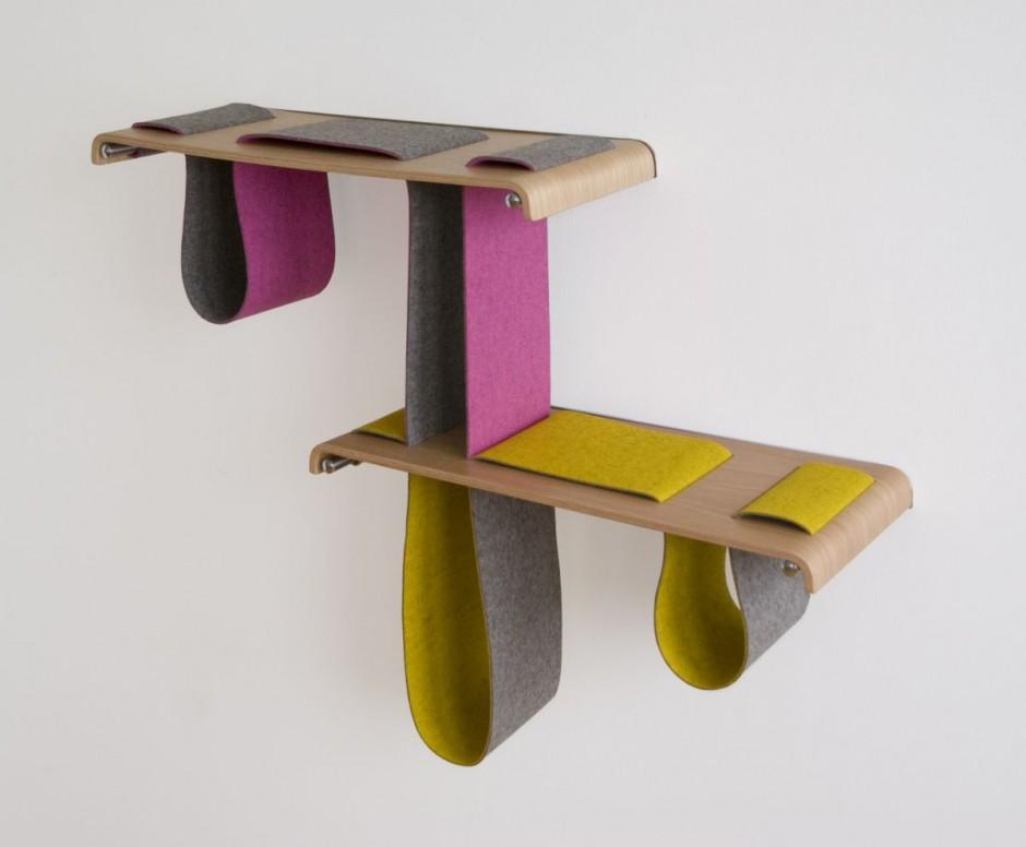 The Boa Shelf by Tuyo Design Studio