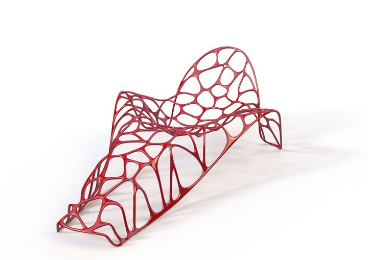 Batoidea-L Chaise Lounge by Peter Donders for Morphs