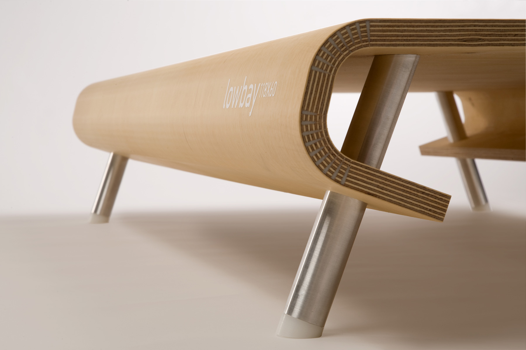 Lowbay Coffee Table by Han Koning
