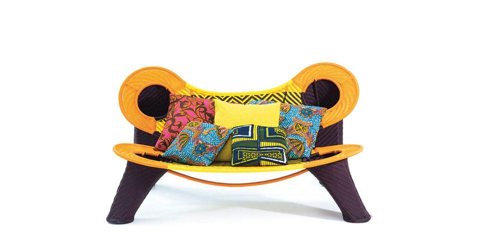 Madame Dakar Sofa by Moroso