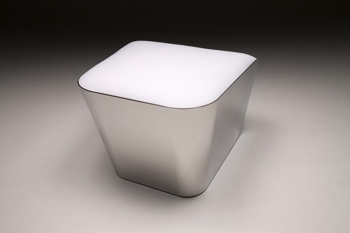 Mozzarella Chair by Tatsuo Yamamoto