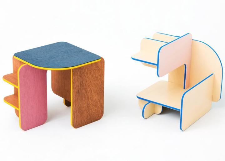 Dice Children Furniture By Torafu Architects