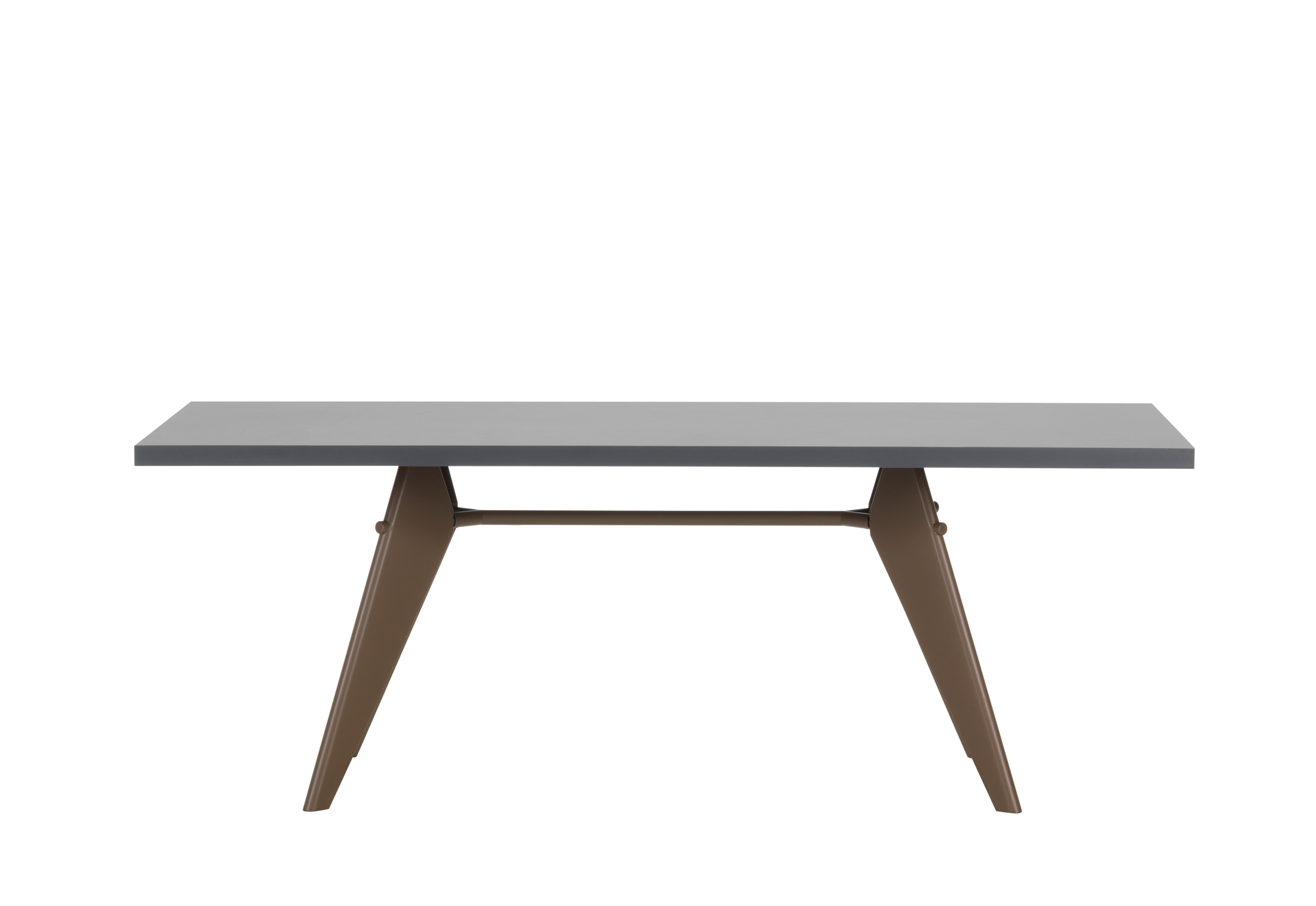 Timeless Design Em Table By Jean Prouve For Vitra Sohomod Blog