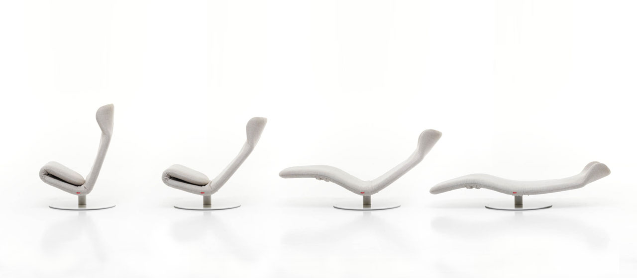 Kangura Lounge Chair by Mussi Italy