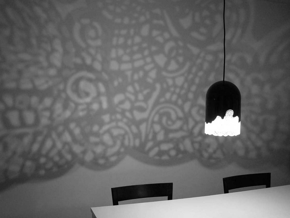 Lacelamps by Linlin & Pierre-Yves Jacques