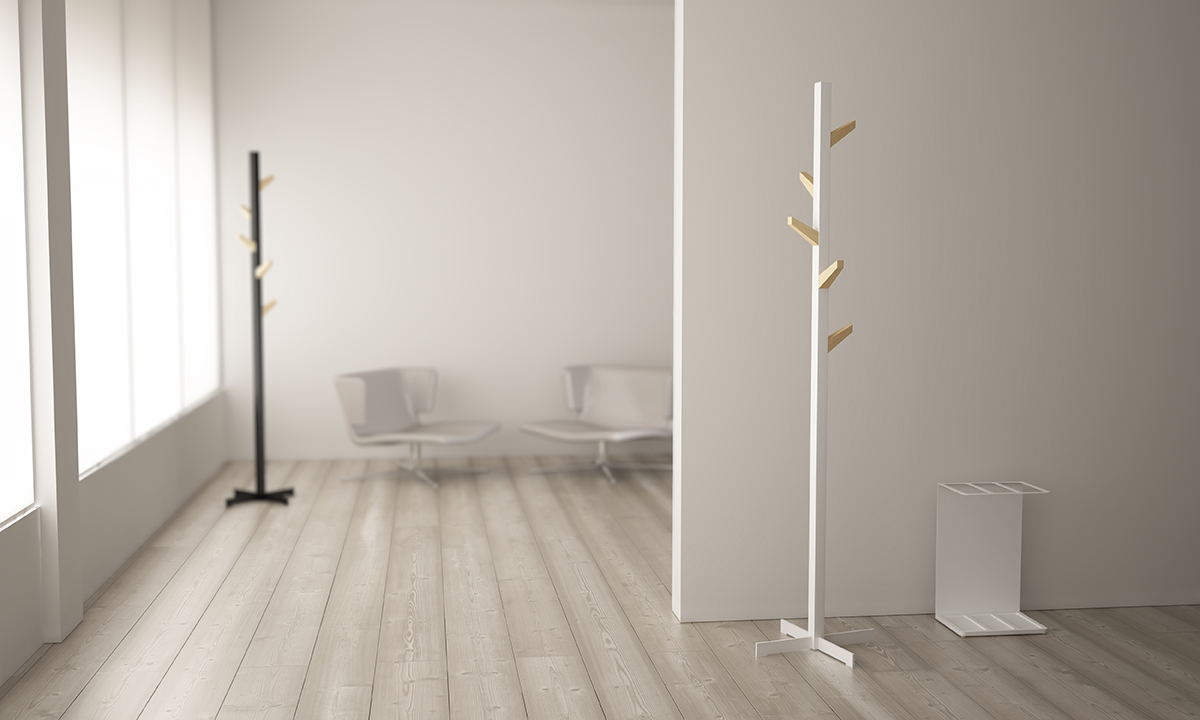 Second Tree Coat Rack by Pablo Gironés for Systemtronic