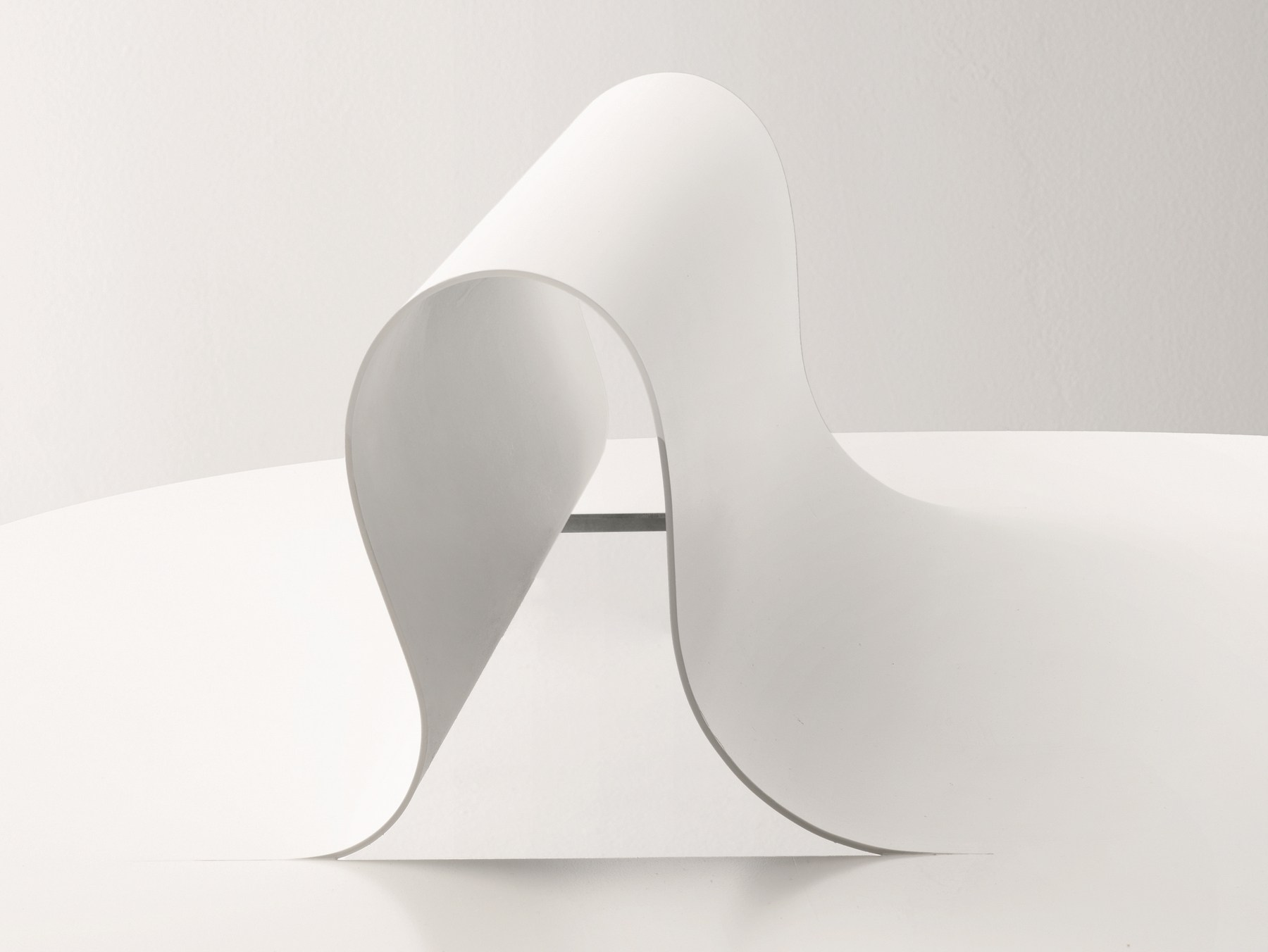 Softer Than Steel Bench by Nendo for Desalto