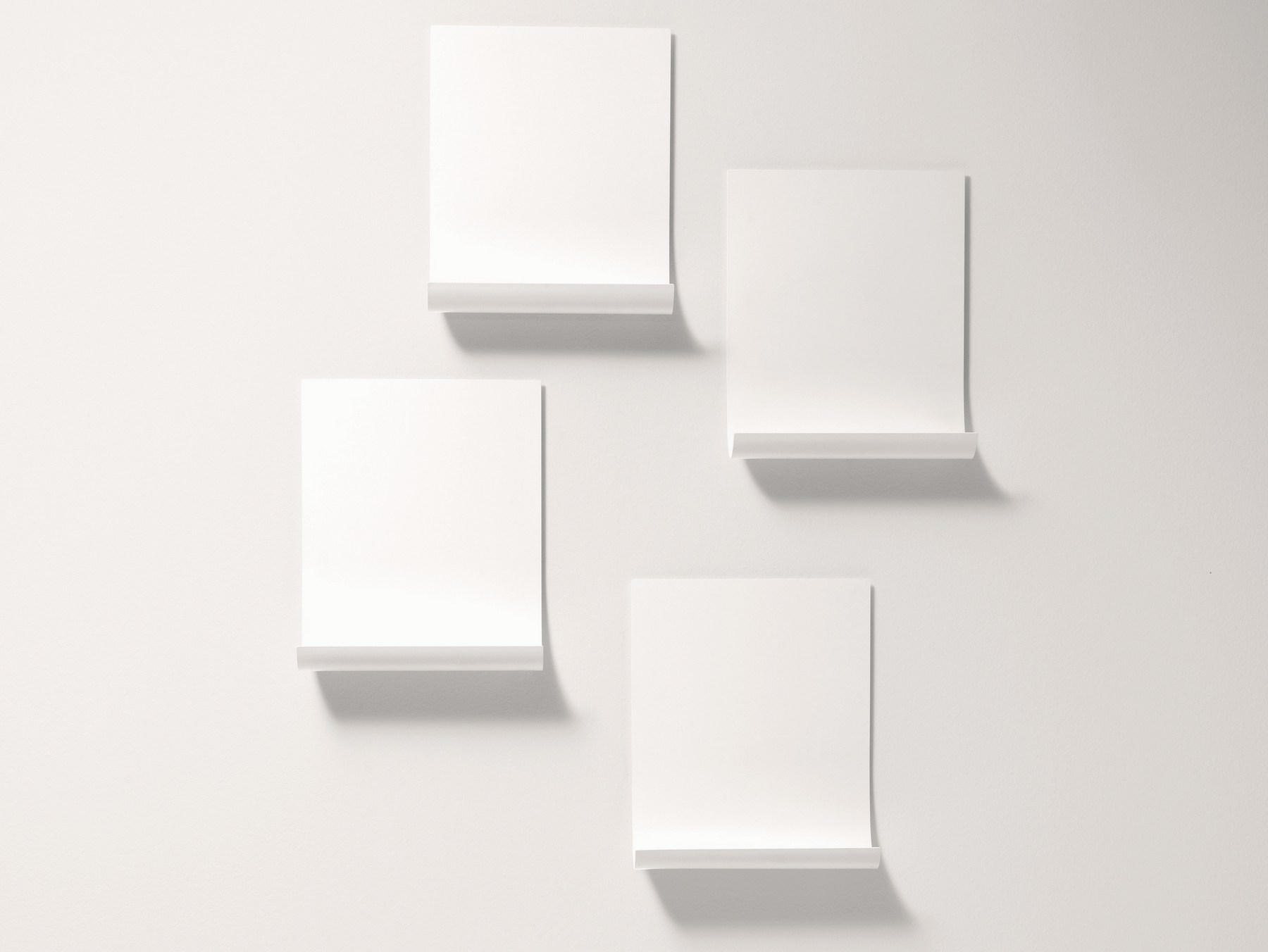 Softer Than Steel Wall Shelf by Nendo for Desalto