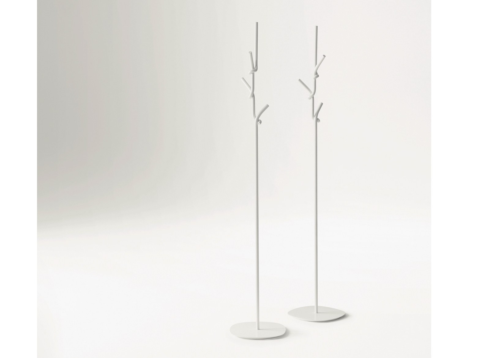 Softer Than Steel Coat Stand by Nendo for Desalto