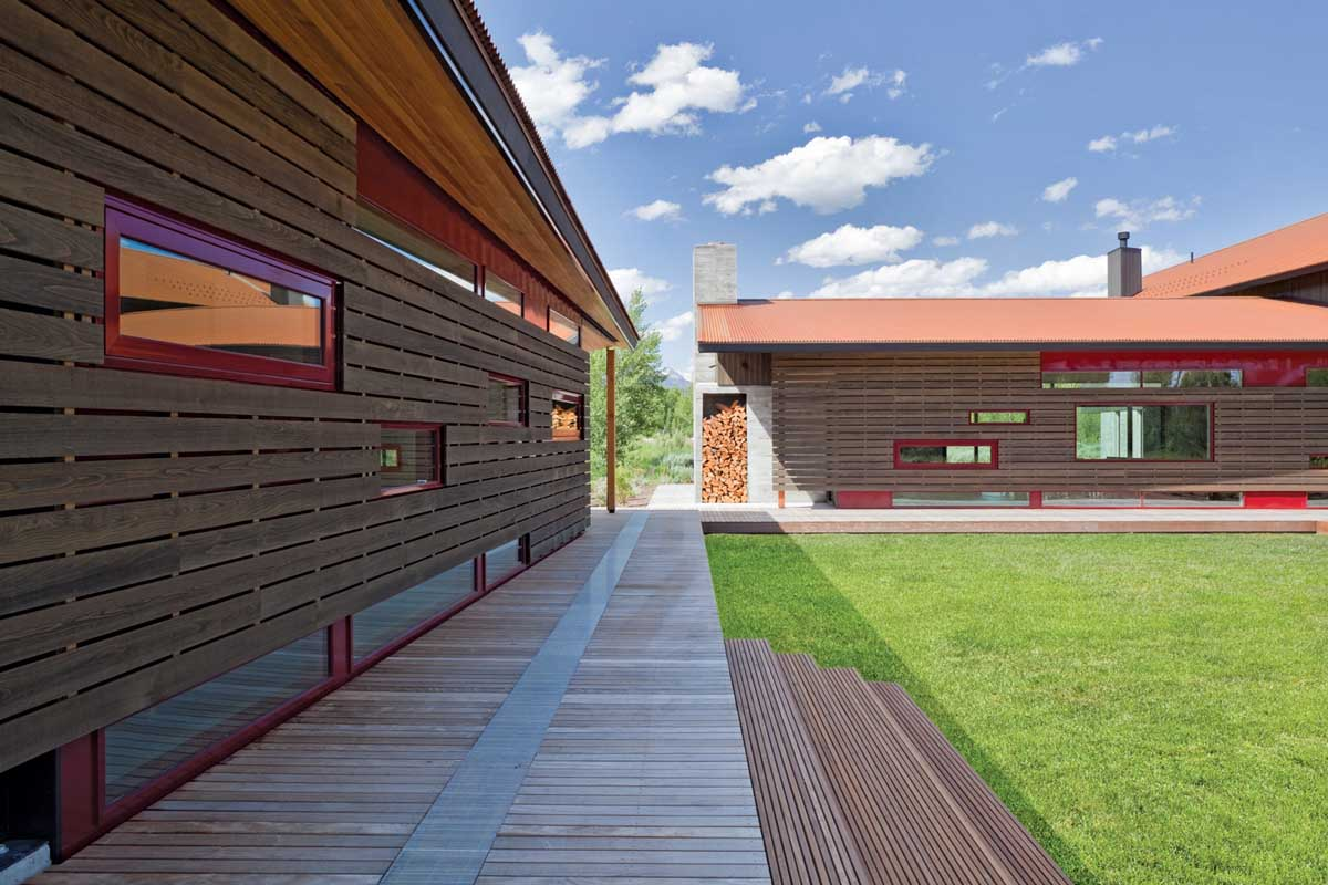 John Dodge Residence in Jackson, Wyoming by Dynia Architects