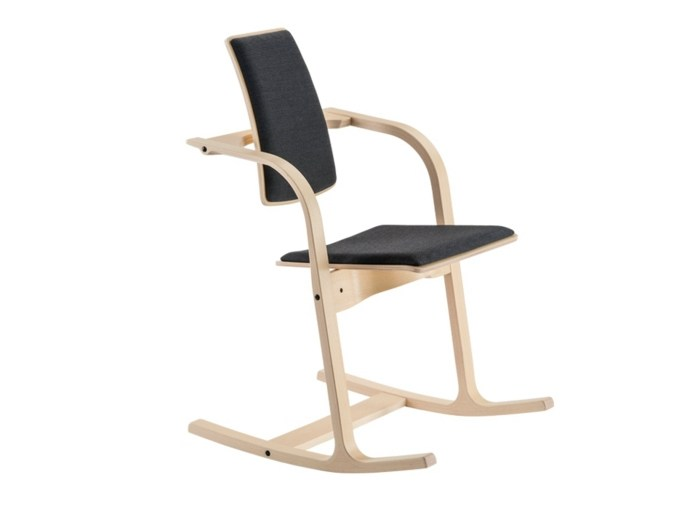 Actulum rocking chair by peter opsvik for varier furniture