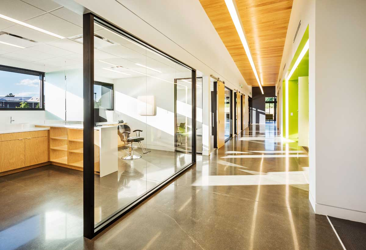 Hicks Orthodontics in Lenoir City, Tennessee by BarberMcMurry Architects