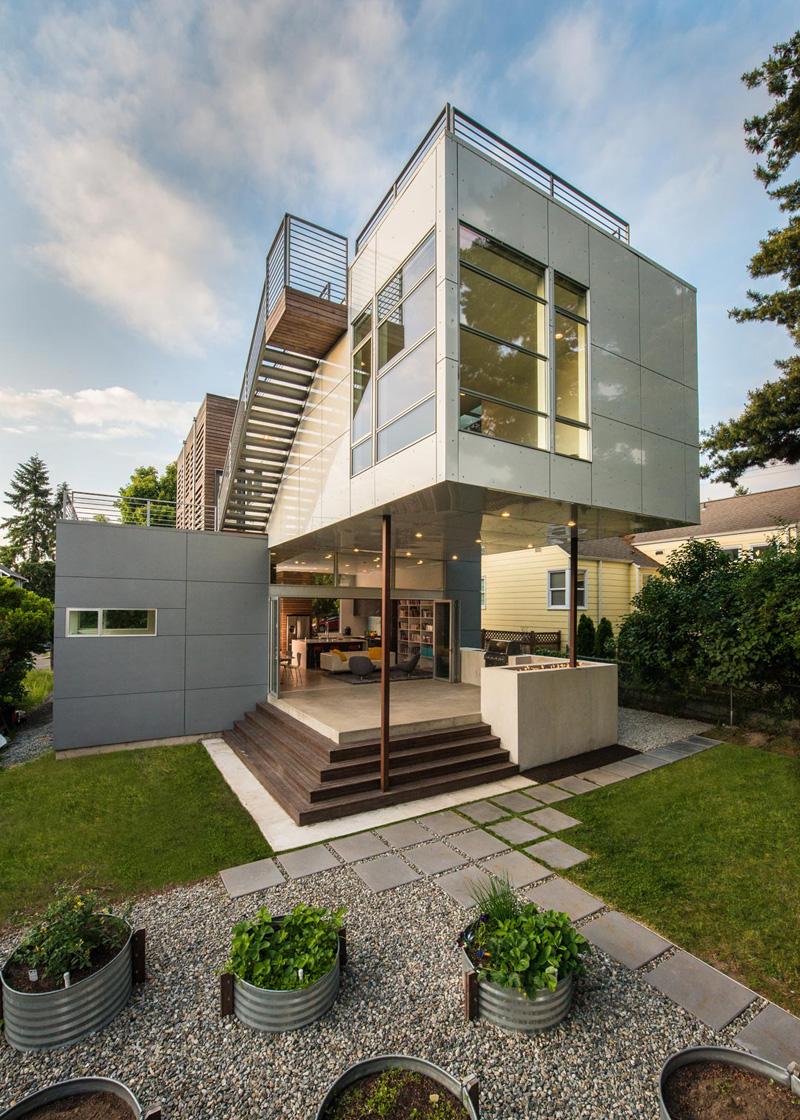 Lark House In Seattle Washington By Stephenson Design