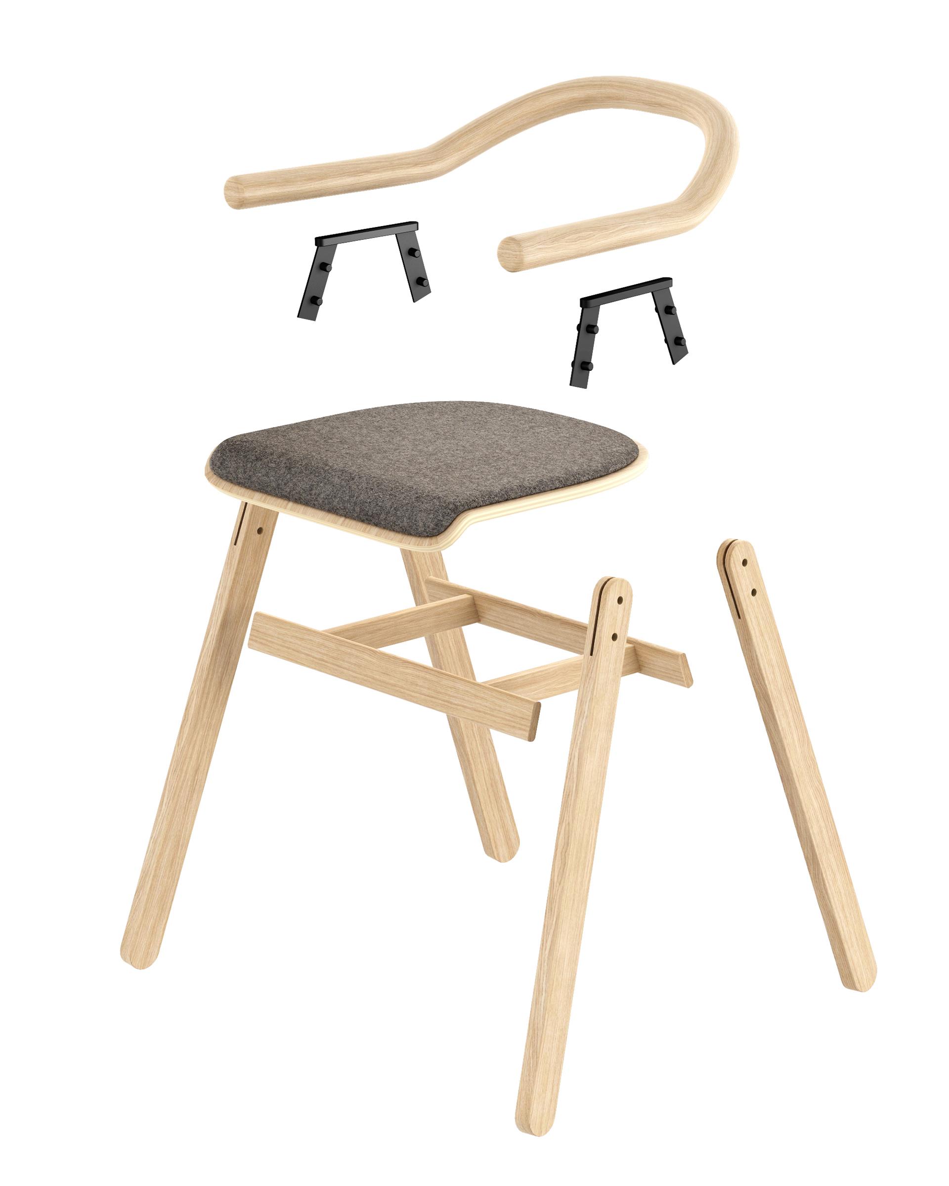 TOON Chair by Radek Nowakowski for Redo Design Studio