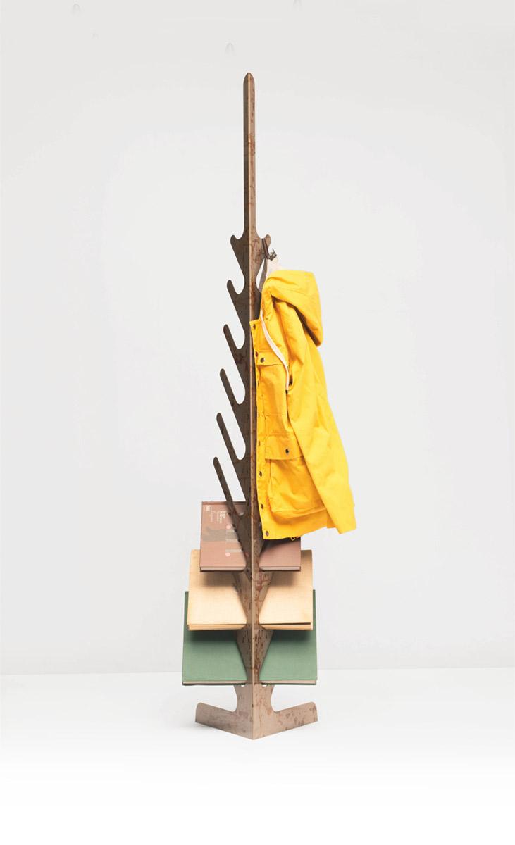 Spino Coat Hanger by Mario Milana
