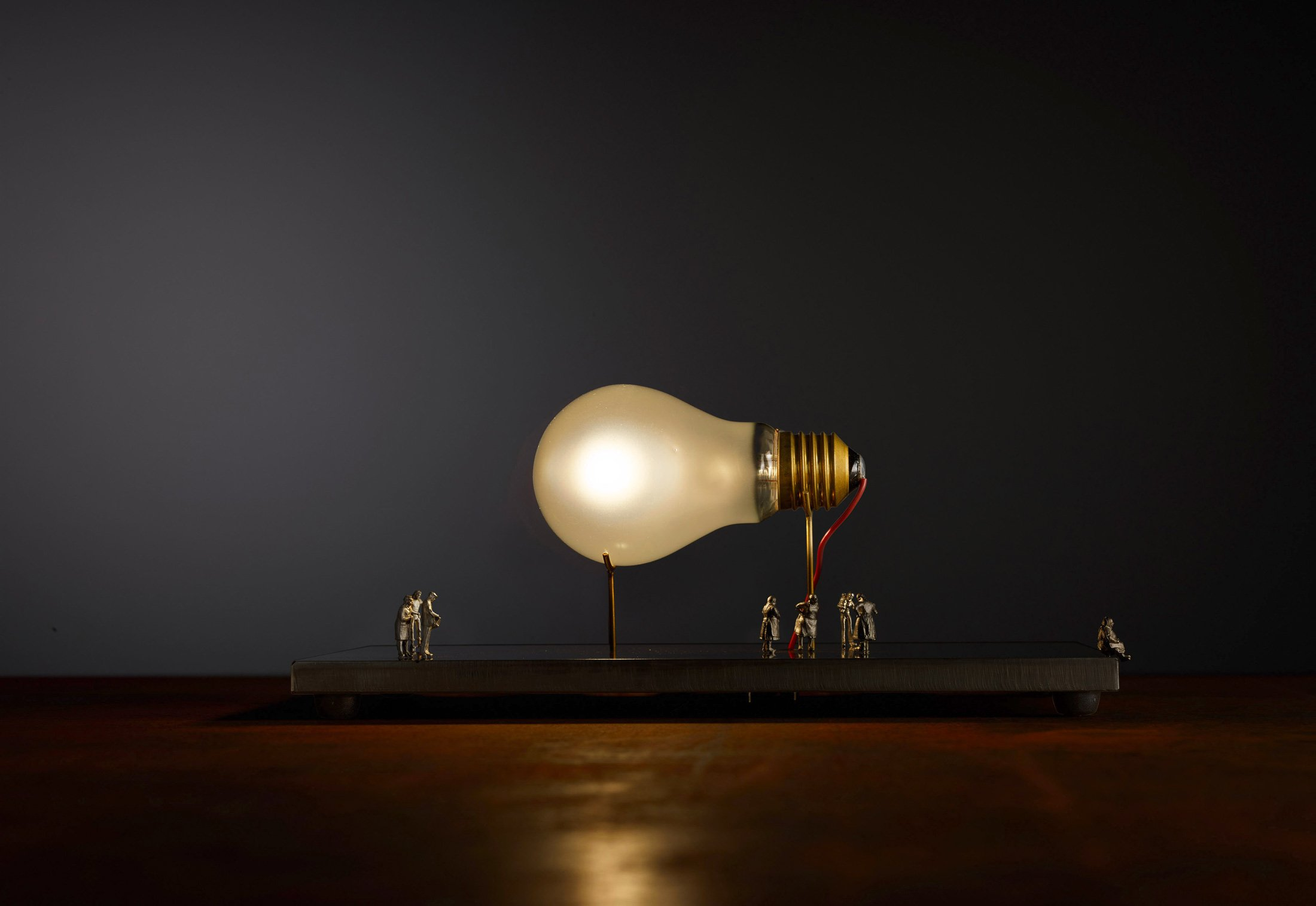Monument for a Bulb by Ingo Maurer