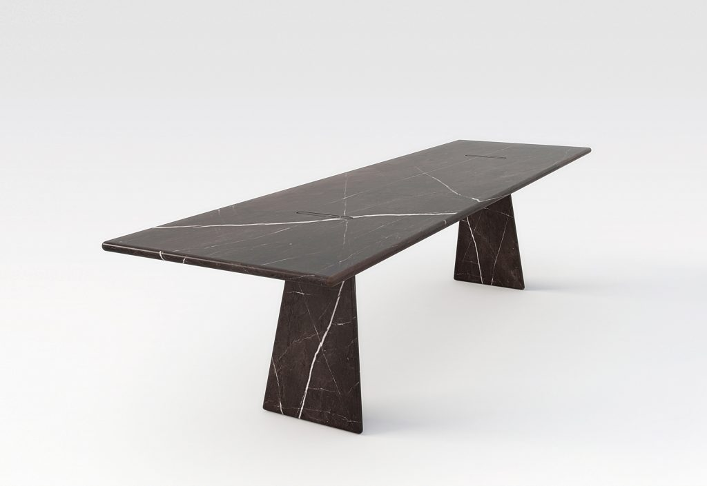 Asolo Dining Tabel By Angelo Mangiarotti For Agapecasa