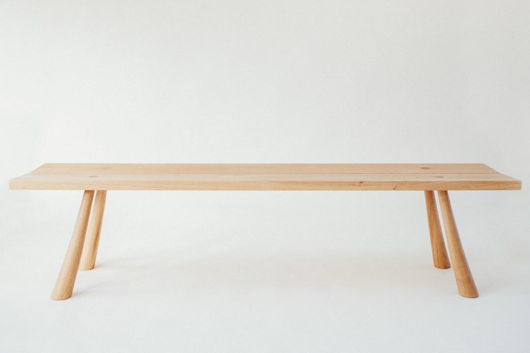 Pollyfox Bench by Henry Swanzy