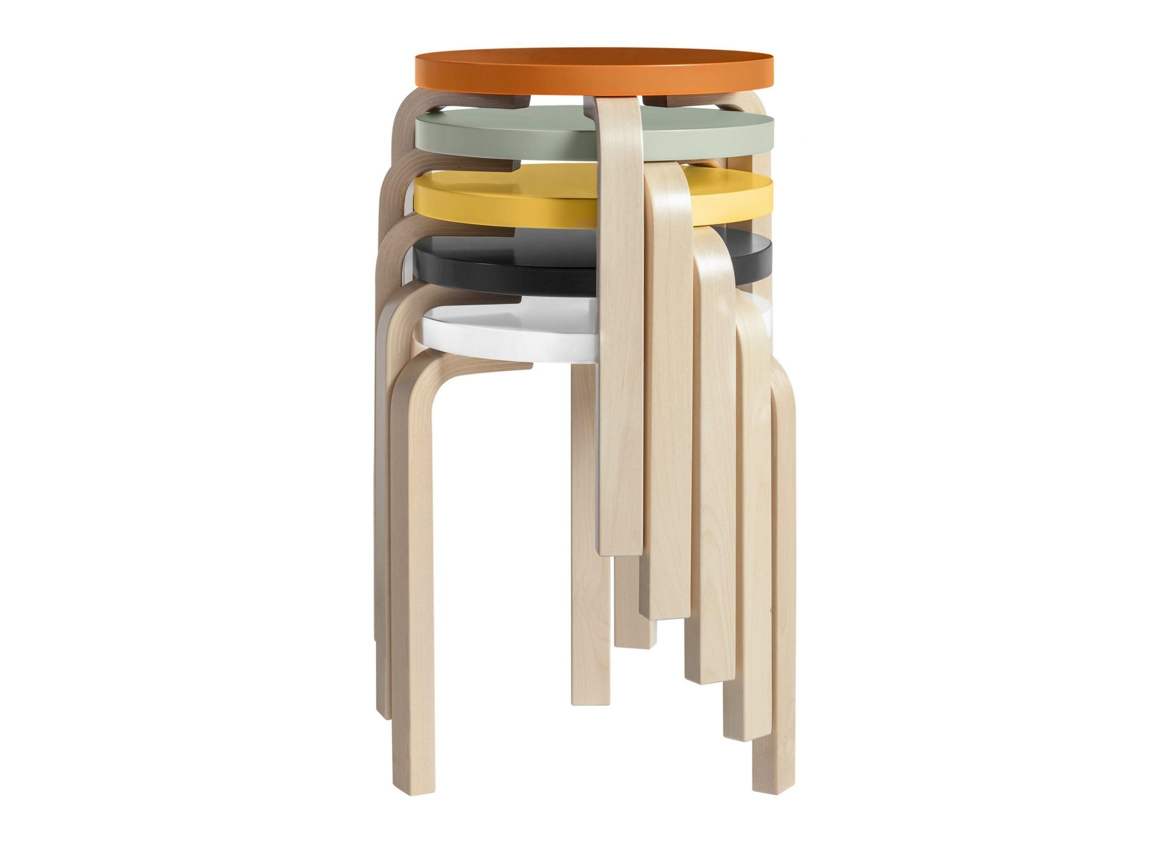 Tabouret En Bois Ikea timeless design: 60 stackable stoolalvar aalto - sohomod