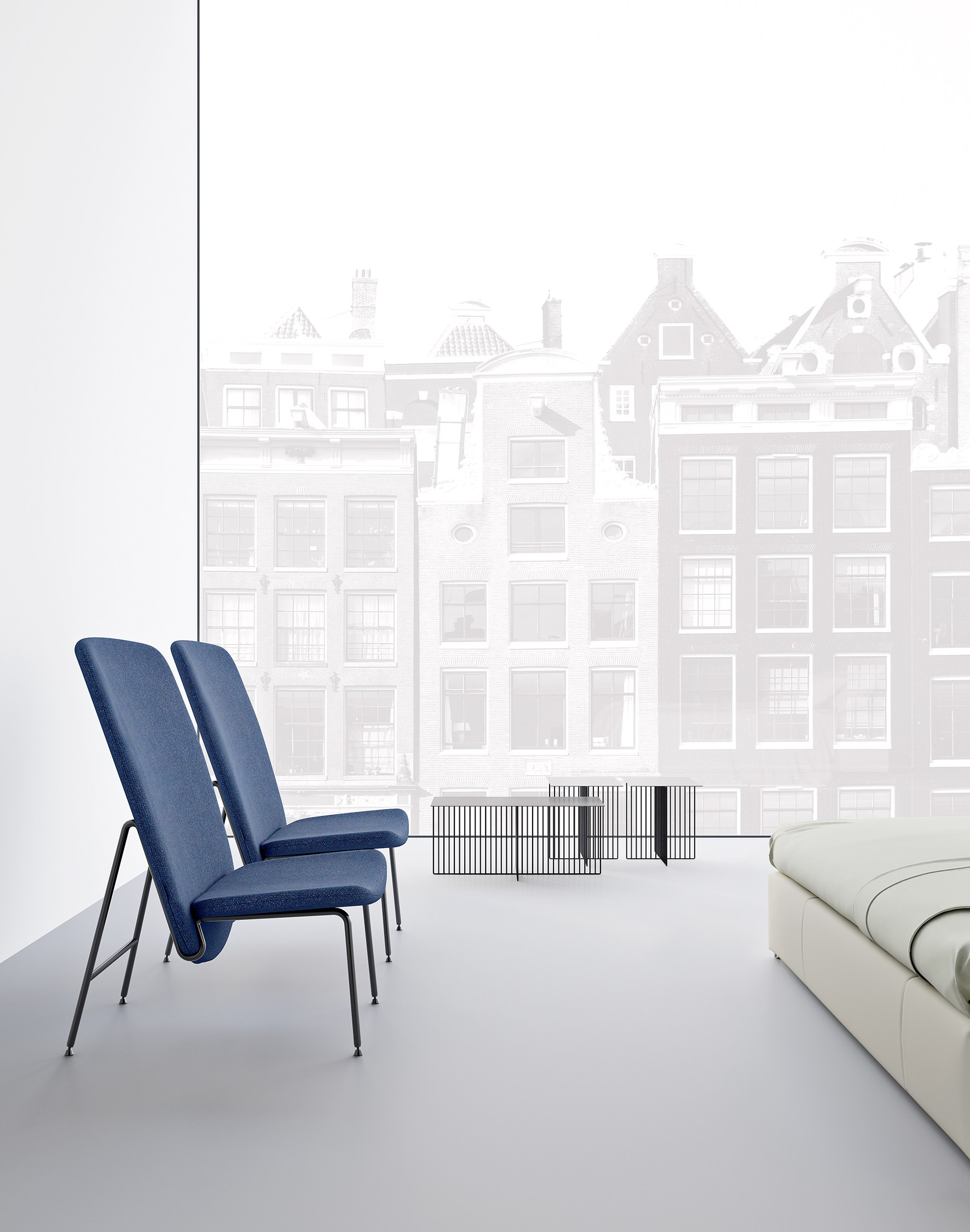Ala Easy Chairs by Sebastian Herkner for La Cividina
