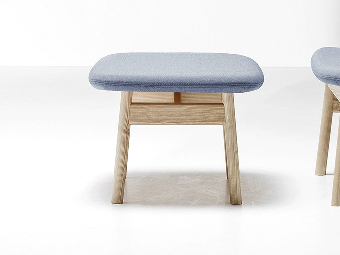 Ala Footstool by Sebastian Herkner for La Cividina