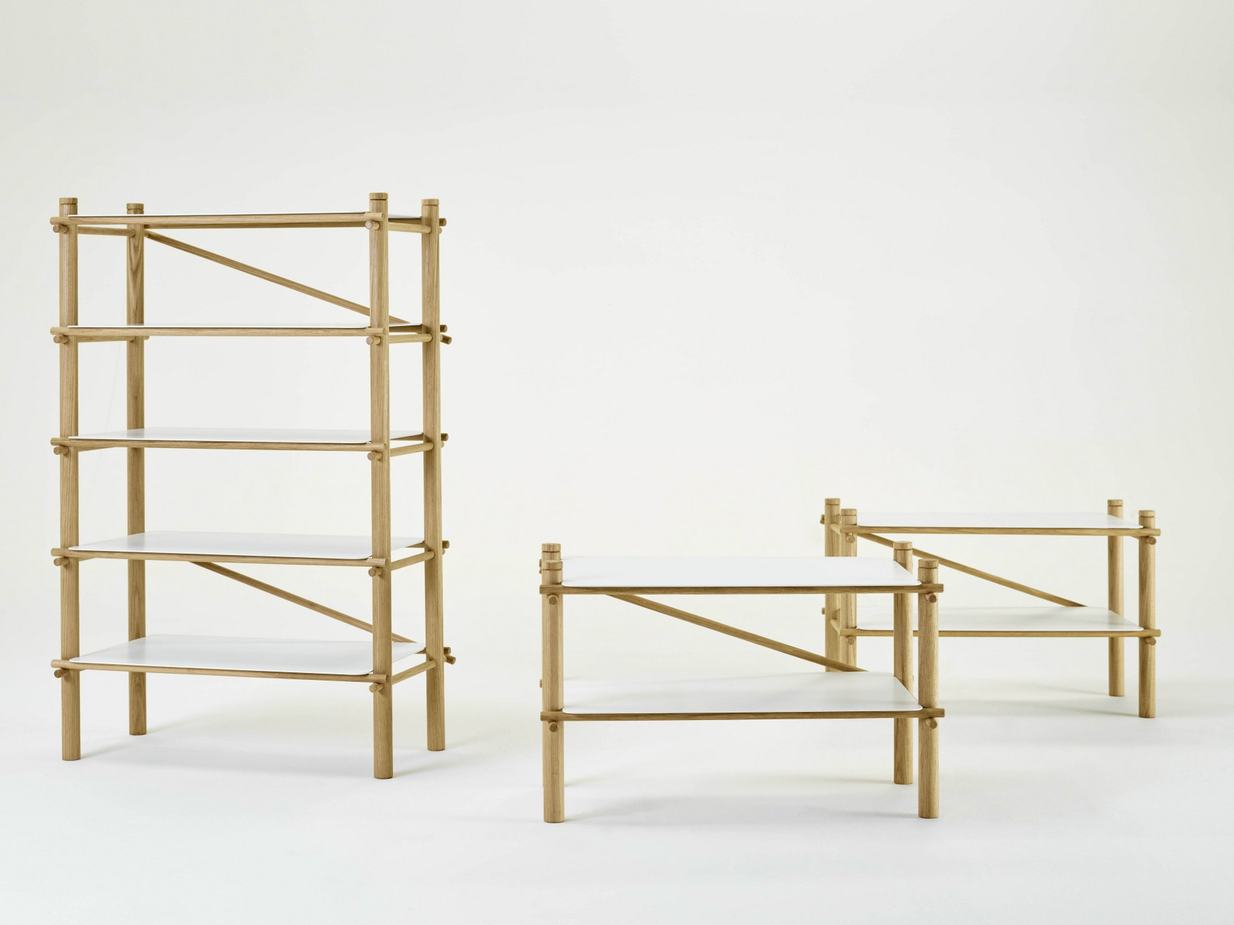 Andamio Shelf by Florian Gross & Kike Macías for EX.T