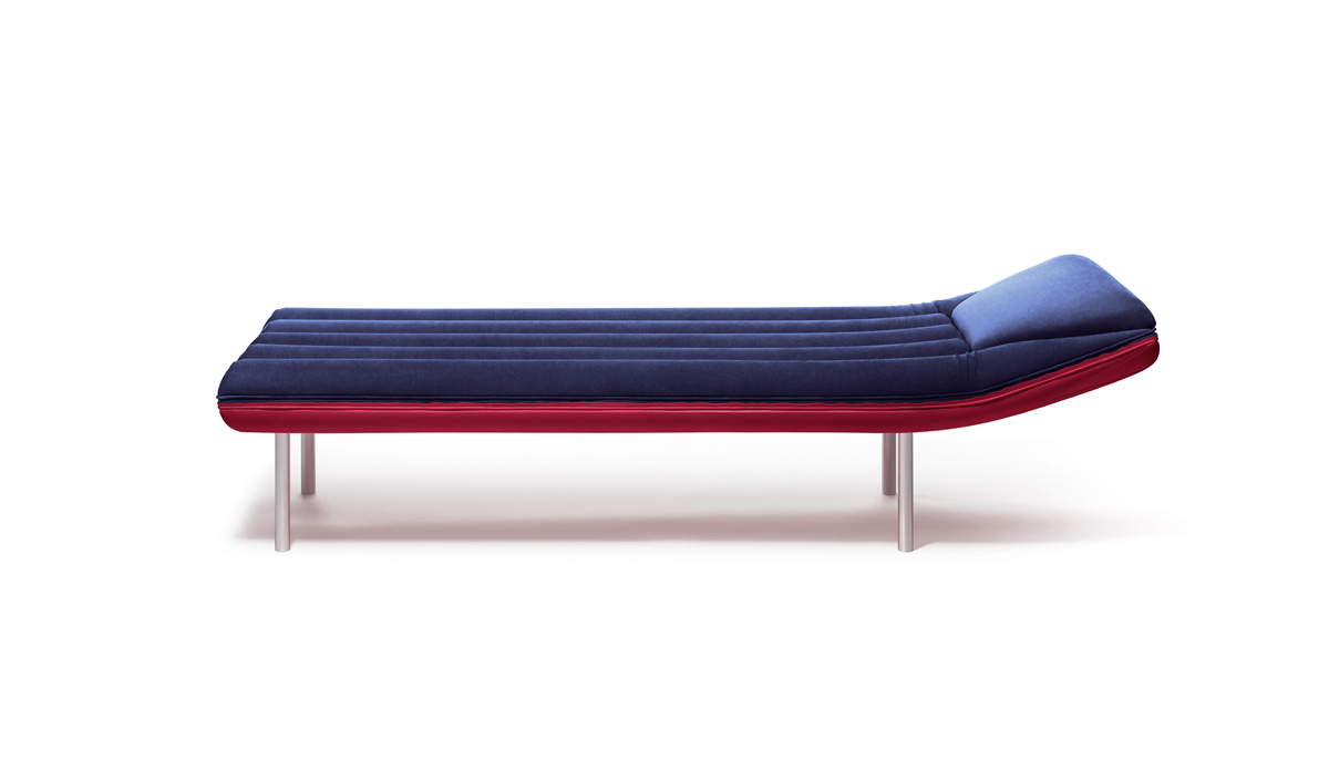 Blow Daybed by Emanuele Magini for Gufram