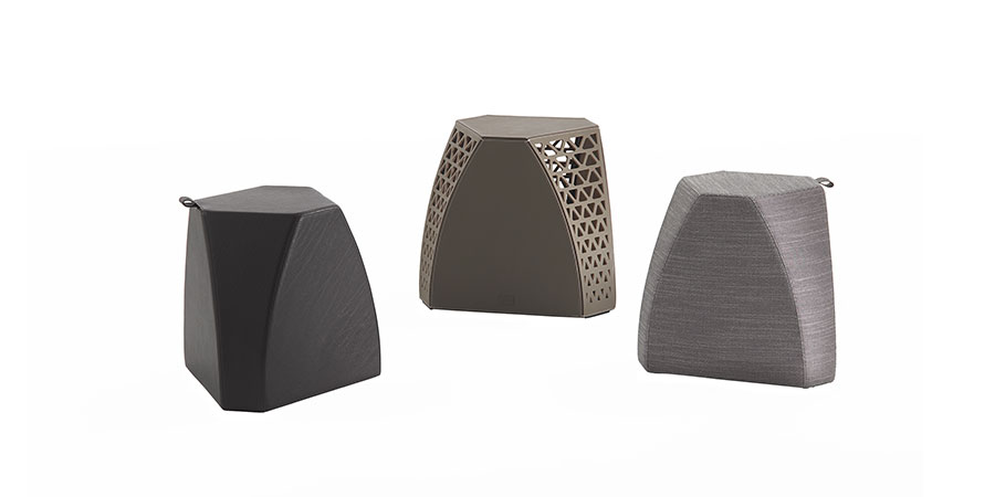 Hudson Side Tables by Virginia Harper for Poltrona Frau