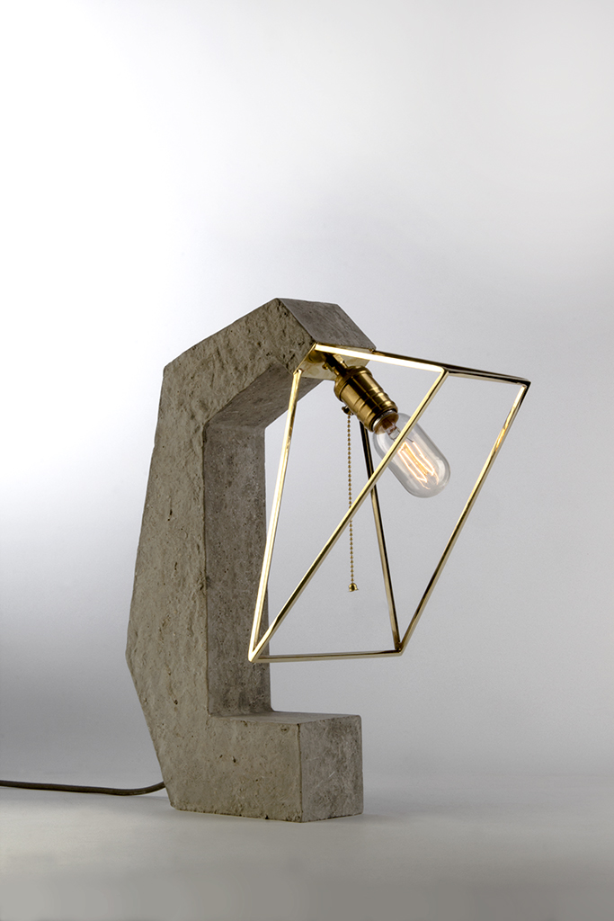 Inside Out Table Lamp by Asia Samimi & Nima Fardi for Daevas Design
