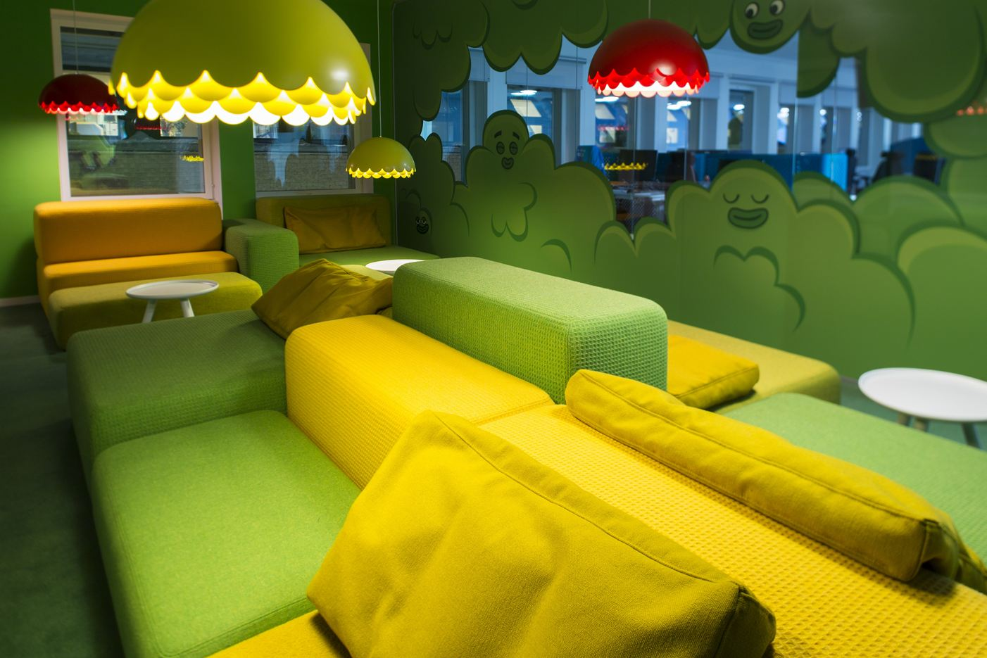 King Candy Crush Saga Office in Stockholm, Sweden by Adolfsson & Partners AB