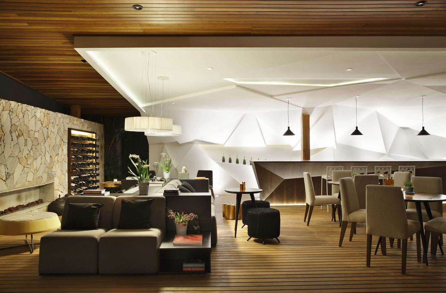 Nosotros bar in campinas brazil by studio otto felix for Arredamento bari