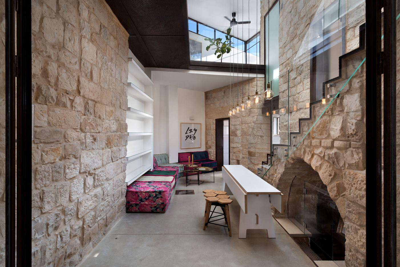 The Reflection House in Safed, Israel by Henkin Shavit Architecture & Design