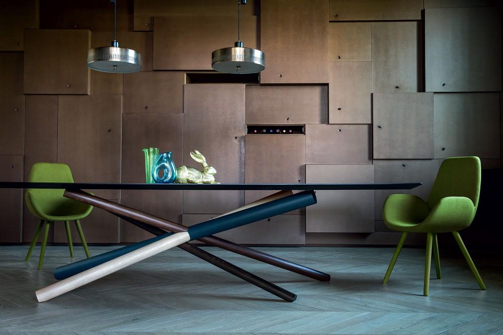 Mysa Armchairs by Michael Schmidt for Bross