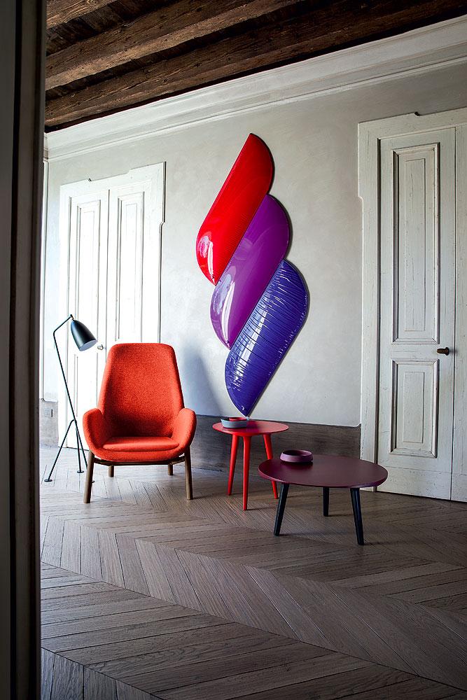 Mysa Lounge Armchair by Michael Schmidt for Bross
