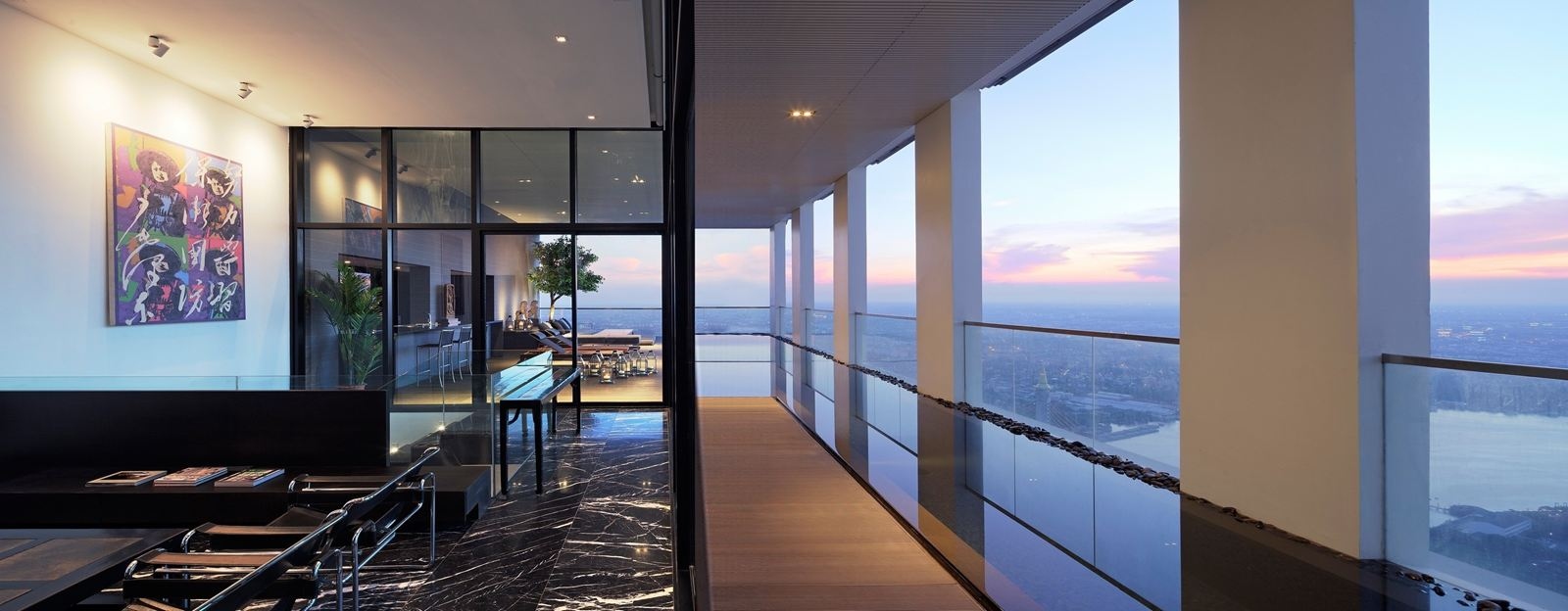 PANO Penthouse in Bangkok, Thailand by AAd