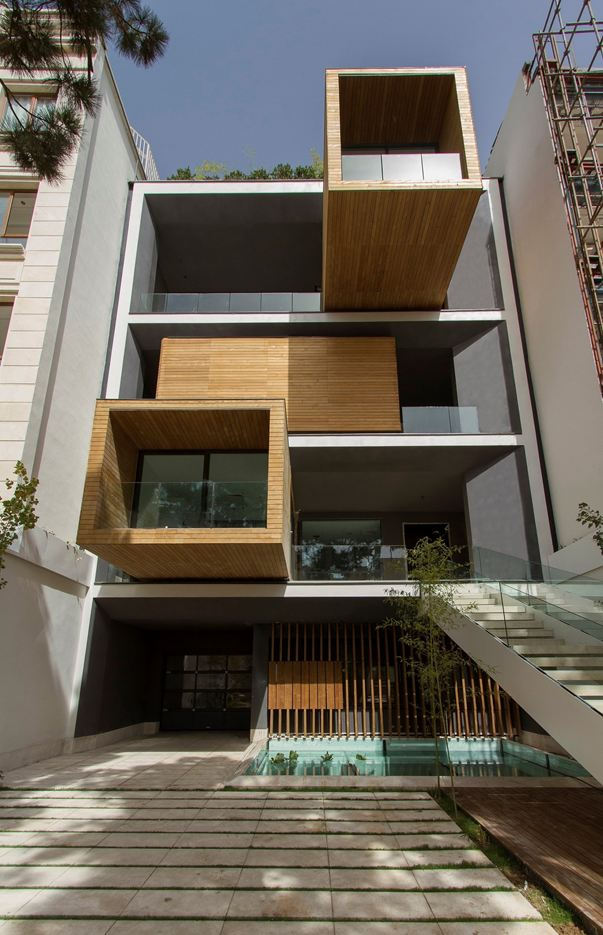 Sharifi-ha House in Tehran, Iran by Nextoffice