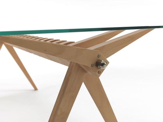 SLICED Dining Table by Francesco Perego for Gaffuri