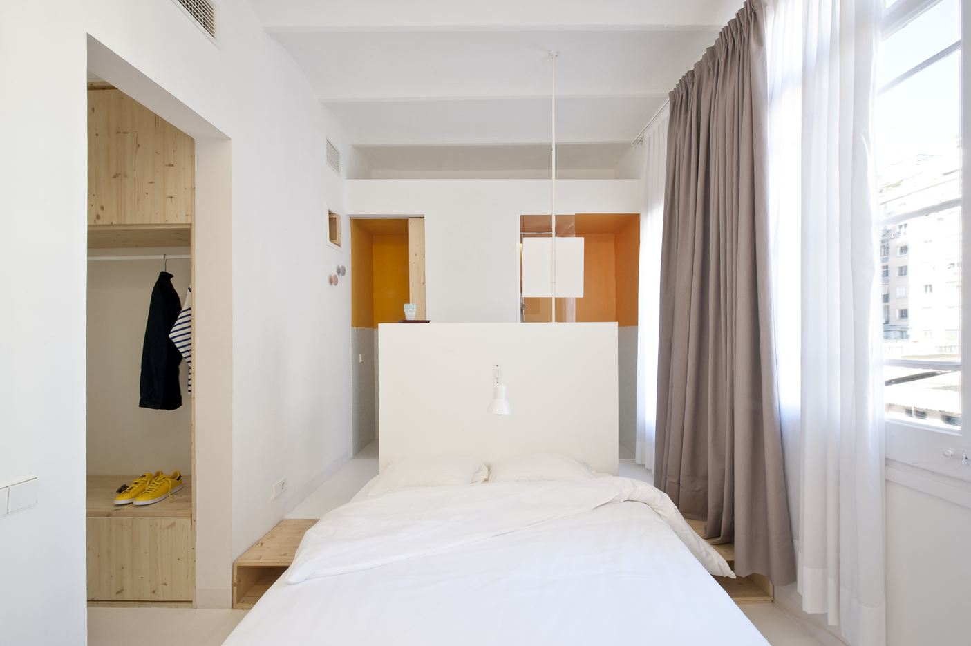 Tyche Apartment in Barcelona, Spain by CaSA Colombo & Serboli Architecture