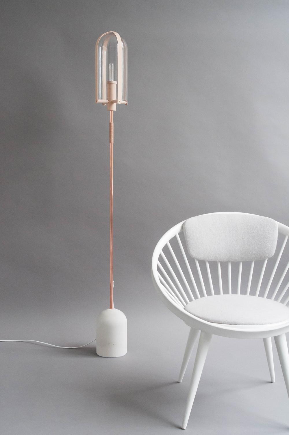 Abela Floor Lamp by Marcel OSSendrijver
