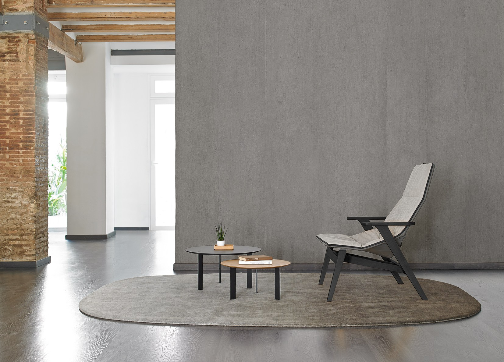 ACE WOOD Chair by Jean-Marie Massaud for Viccarbe